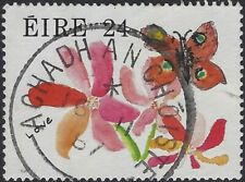 Ireland Eire 1987 Greetings Stamps - Children's Paintings 24p used stamp