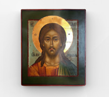 Copy of an antique icon. Holy face of Christ - Nord. Vintage Decor.