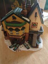 "Dept 56 Heritage Village Dickens 1996 Retired ""The Grapes Inn"""