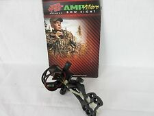 PSE Amp Micro adjust 5 pin compound bow sight Black w/ removable Light 0.019""