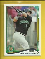 Dan Vogelbach RC 2014 Topps Pro Debut Rookie Card # 53 Seattle Mariners Baseball