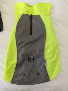 3 PEAKS  3 IN 1 dog raincoat yellow/grey large 46-53cm