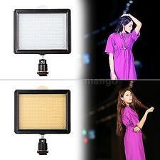UK 160 LED Video Light Studio Lamp for Canon Nikon Pentax DSLR Camera Camcorder