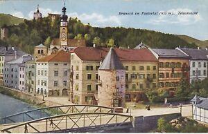 ITALY  ALTO  ADIGE (X 552) 1923  postcard  BRUNEK st. to Verona