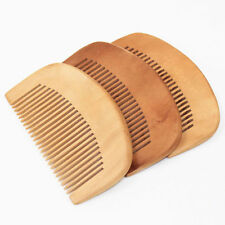 1* Natural Bamboo Wooden Eco-Friendly Detangling Healthy Hair Brush Comb AU