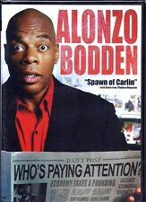 Alonzo Bodden: Who's Paying Attention? (DVD, 2011) WORLDWIDE SHIP AVAIL!