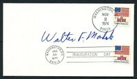 Walter F. Mondale signed autograph 1976 Postal Inauguration Day Cover PC051