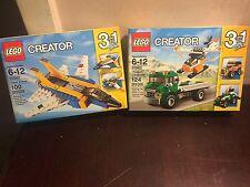LEGO CREATOR SUPER SOARER AND CHOPPER TRANSPORTER SET 31042 31043 L@@K