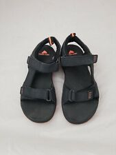 OZARK TRAIL BLACK & Orange SANDALS MEN'S SIZE 8