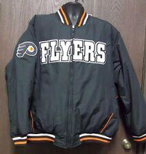 G-III Sports NHL PHILADELPHIA FLYERS Reversible Cotton Polyester Jacket Sz 2XL