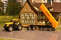 Siku 1858 - JCB Tractor with Dolly and Tipping Trailer - Scale 1:87  BNB
