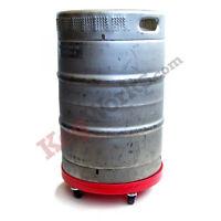 Beer Keg Dolly - Easy Transport - Draft Beer Bar Pub Storage - Organize & Move