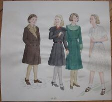 Original Art/Hand-Painted Fashion/Clothing Painting: 1932 - 7