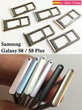 """Bandeja Nano Sim y Sd para """"Samsung Galaxy S8 / S8 Plus""""  Soporte Ranura Memoria"""