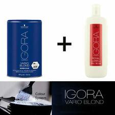 schwarzkopf igora vario blond super plus powder dust 450g+ royal developer 1000m