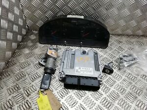 VW Transporter T5 ECU And Lock Set 0281012762 / 038906016AH BRR (sd193)