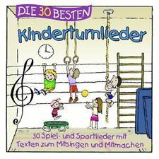 Die 30 Besten Kinderturnlieder von Karsten Glück, Simone Sommerland OVP