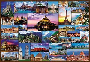 1000 Piece Jigsaw World Heritage Selection 40 World Minimal Micropiece