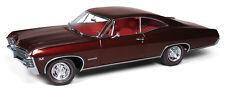 1967 Chevrolet Impala Madiera Maroon 1:18 Auto World 942