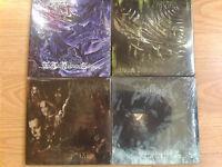 "EMPEROR ""Mini Vinyl"" 4CD set: Anthems, In The Nightside Eclipse, IX, Prometheus"