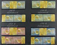 Space Raumfahrt 1965 Guinea UIT ITU Fernmeldeunion 298-301 Kehrdrucke MNH/1106