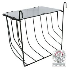 More details for wire hay manger with lid food rack rabbit guinea pigs rodents medium