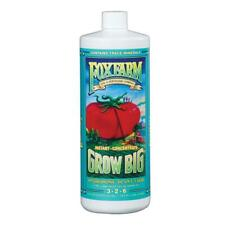Fox Farm Grow Big Hydroponic Liquid Plant Food Concentrate 32oz