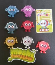 Moshi Monsters Wallop x 7 Rare Limited Editions inc Gold, Silver, Red Bauble