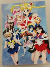 Sailor Moon Super S group poster 11x15 laminated.