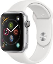 Apple Watch Series 4 (GPS Only), 44mm Silver with White Sport Band