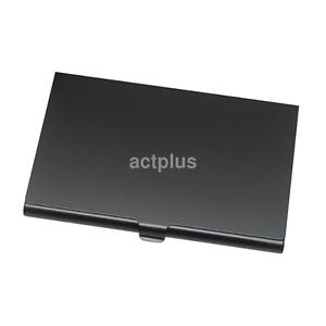 Pocket Solid Color Aluminum Slim Light Business Credit ID Card Case Box Holder U