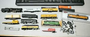 Lot of N Scale Model Railroad Train Parts