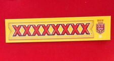 Sticker - XXXX Official Beer of State of Origin Maroons - 5cm x 24cm
