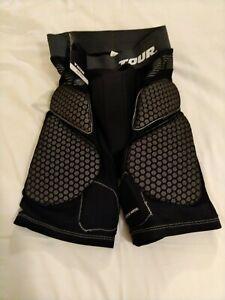 Tour Roller Hockey Hip Pads Code Zero Girdle Black Small 5275AS