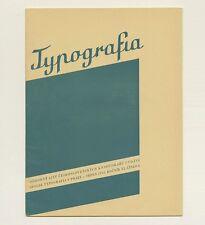 1933 Karel Teige TYPOGRAFIA Fototypografie Photography in Modern Typography 1st