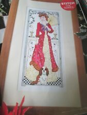 'Festive Victorian Charm' Lesley Teare cross stitch chart (only)