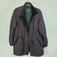 Preston & York Sport Women's Deep Plum Coat (Size S)