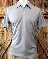 NWT Callaway X Series Men's XL Polo Shirt Gray Short Sleeve Polyester Golf NEW