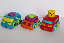 Fisher Price 3 Stack N Surprise Fire Engine Musical Truck, Mail Peek Boo Block