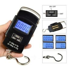 Portable 50kg/10g LCD Pesa Digital Electronic Luggage Maletines Weight Scale