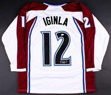 08b332b31c8 Jarome Iginla Signed Colorado Avalanche Jersey (JSA COA) Ready for Framing