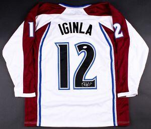 Jarome Iginla Signed Colorado Avalanche Jersey (JSA COA) Ready for Framing