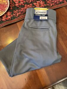 Champro Youth Open Bottom Baseball Pants Gray Dri-Gear NEW NWT Pick Size