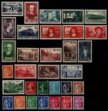 L'ANNÉE 1937 (sauf Louvre + Pexip), Neufs * = Cote 90 € / Lot Timbres de France