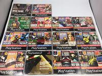 PS1  Demo Discs Official PlayStation 1  Magazine Bundle