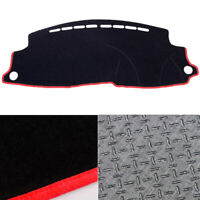 Anti-Slip Black Dash Mat Cover BL w/ Red Line for 2015 ~ 2019 Honda HR-V RHD