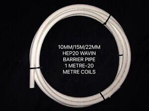 HEP20 WAVIN WHITE BARRIER PIPE PUSHFIT/SPEEDFIT TYPE/WATER/DIY/PLUMBING