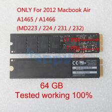 """TOSHIBA 64GB SSD 17+7pin for Apple MacBook Air 11"""" A1465, 13"""" A1466 Mid 2012"""