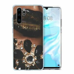 For Huawei P30 PRO Silicone Case Girls Jewels - S4592