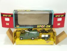 triang spot on 419 ARMY LAND ROVER ROCKET LAUNCHER  (259)